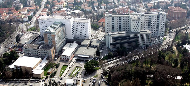 Vicino all'ospedale di Padova